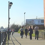 Walking at Preston Docks