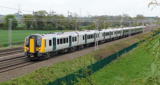 350107 + 350103 - Rugeley North, Staffordshire