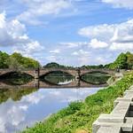Broadgate walkway and river