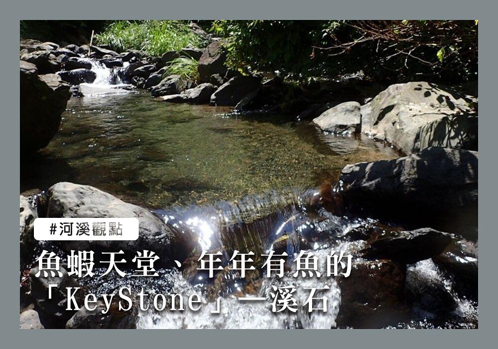 魚蝦天堂、年年有魚的「KeyStone」——溪石