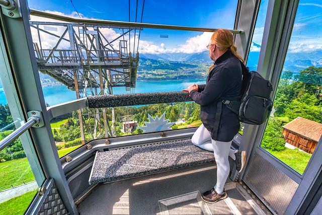 Niederhorn/Schweiz 18.6.2018 - Niederhornbahn