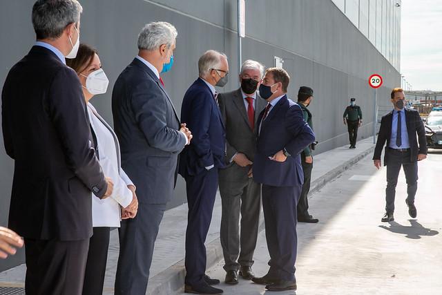 Inauguración del centro logístico 'Mountpark Illescas I'