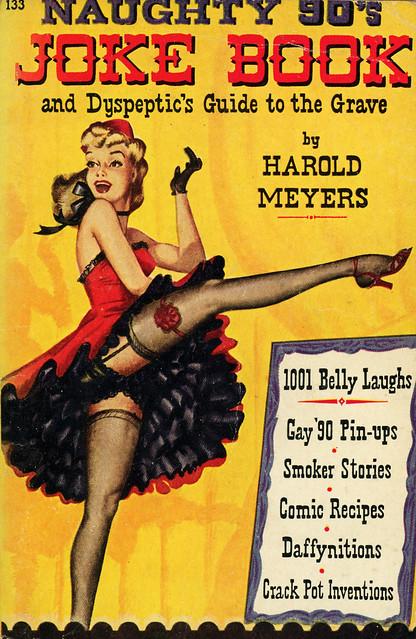 Avon Books 133 - Harold Meyers - Naughty 90's Joke Book