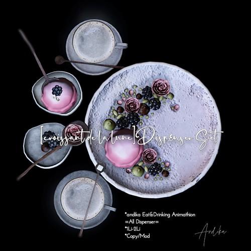 andika GG/andika[croissant de la lune]Dispenser Set