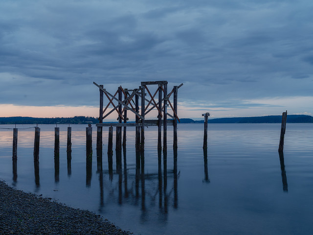 Nisqually in the blue