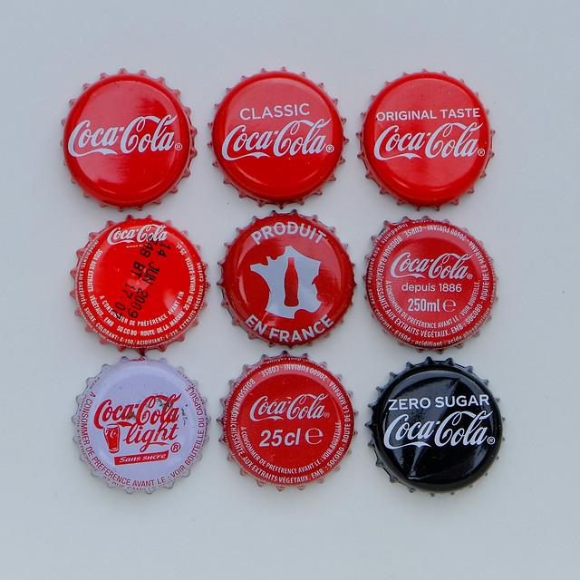 9 x Coca-Cola