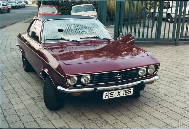 Opel Manta-A 1.9 Berlinetta, Mod. 1974