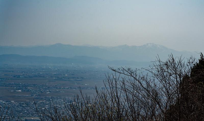 角田山の展望