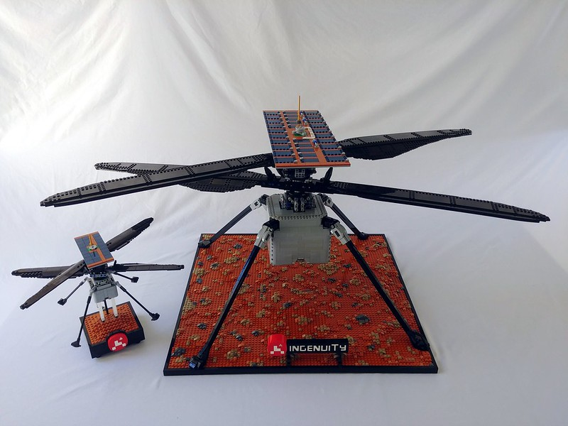 Full Size LEGO Ingenuity 02