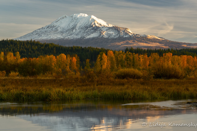Mount Adams in Autumn