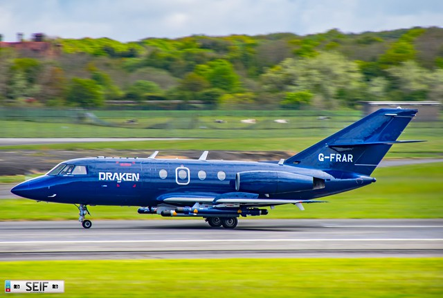 G-FRAR Dassault Falcon 20 Prestwick Scotland 20121