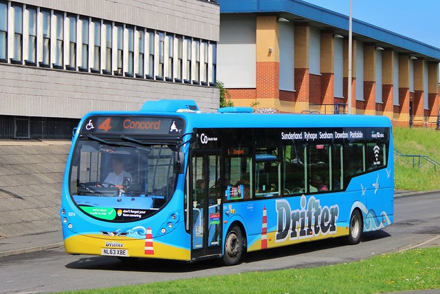 Go North East 5374 / NL63 XBE