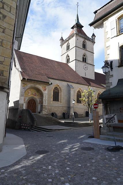 Kirche, Estavayer-le-Lac