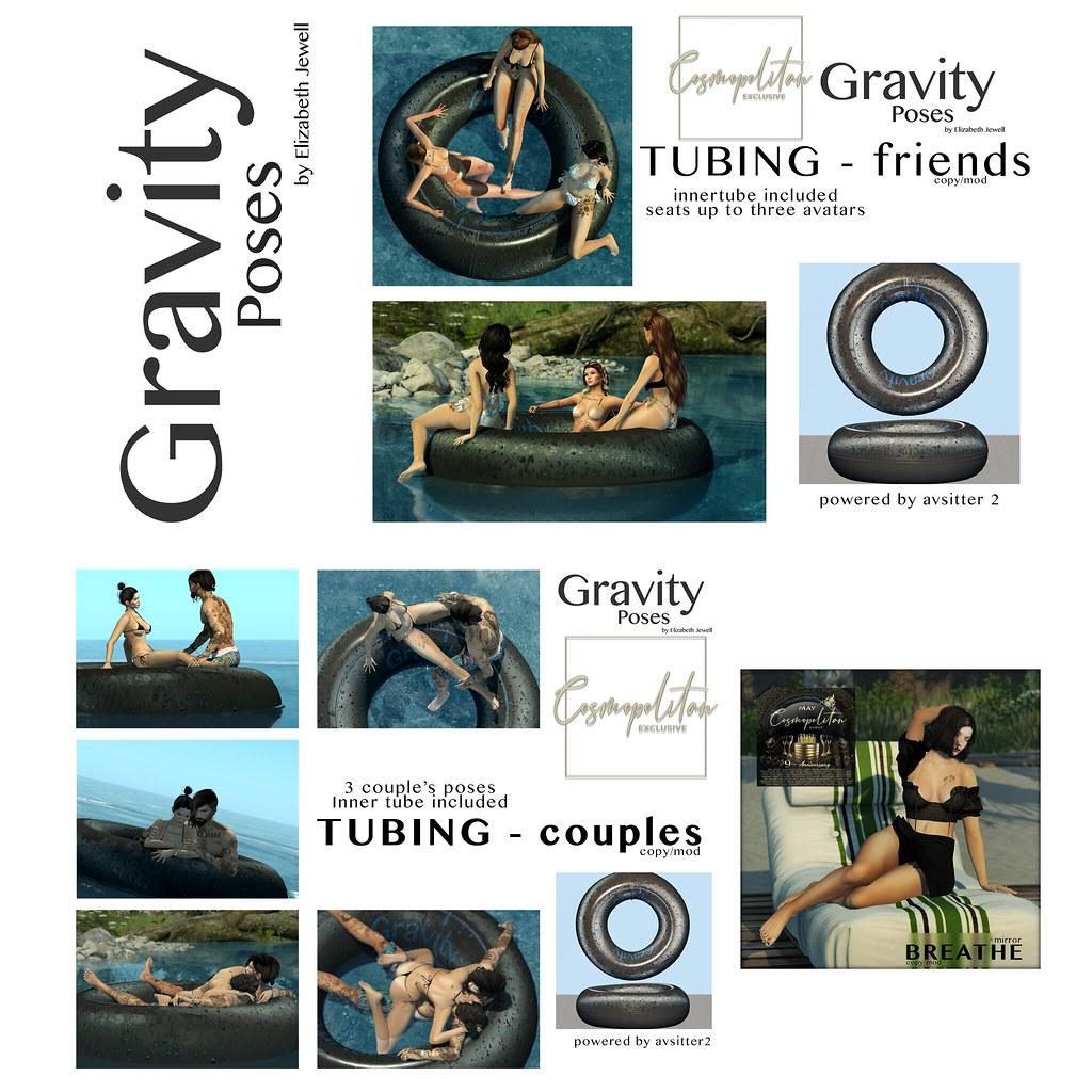 Gravity Poses for Cosmopolitan
