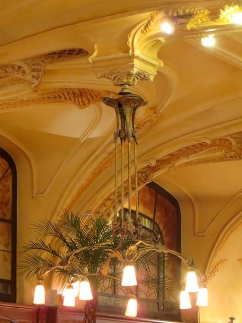 Hôtel-Brasserie Excelsior, 1910, rues Poincaré et Mazagran, Nancy, Meurthe-et-Moselle, Grand Est, France.
