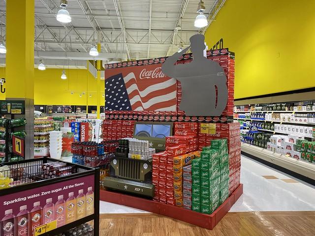 Coca Cola Memorial Day Display Fresco y Mas Miami