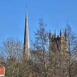 The spire and the tower