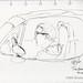 2021 0517 St Edward Park Tina car sketching