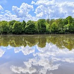 Reflections at Preston's river