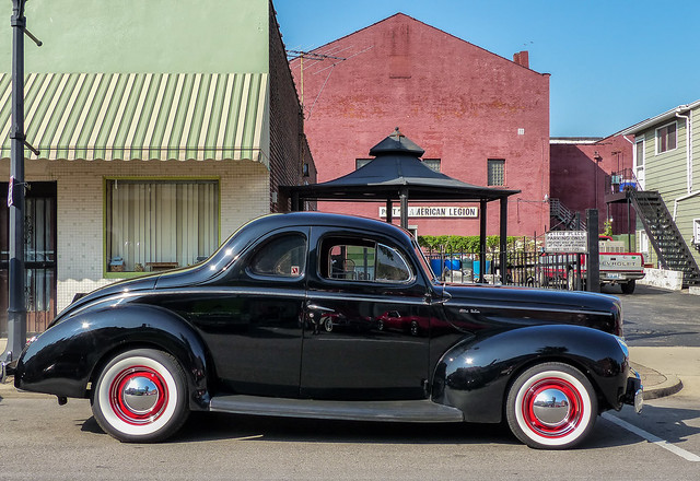1940 Ford Delux Coupe