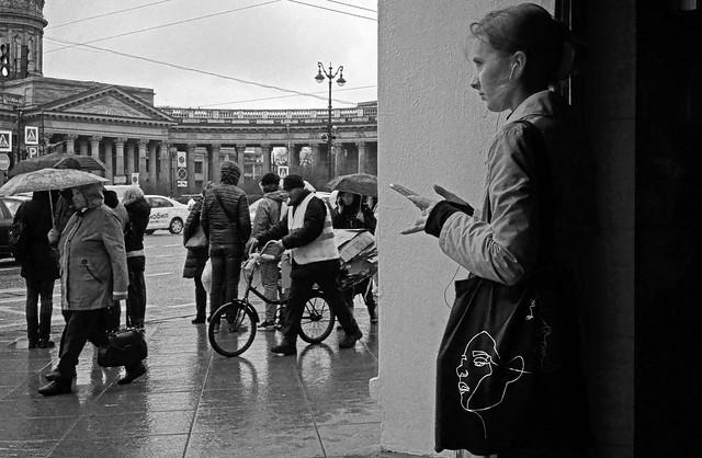 May rain in St. Petersburg