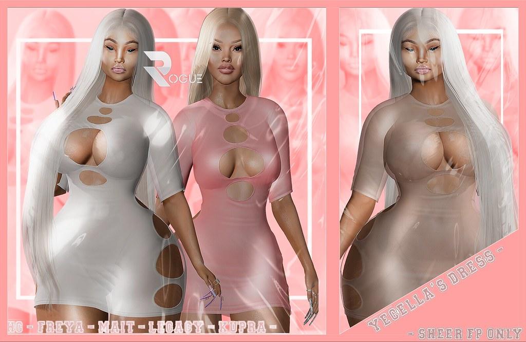 """ROGUE"" YECELLA'S DRESS"