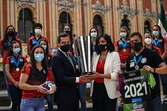 2021_05_17 Recibimiento Club de Balonmano Rinc�n Fertilidad M�laga Costa del Sol