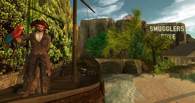 Cranston Travels The Grid Blog:  Entry #15 - C.K.'s Smugglers Cove
