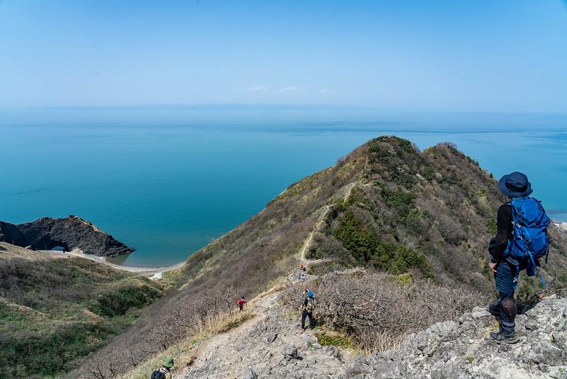 角田山の灯台コース