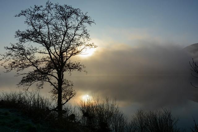Misty sunrise - Explored