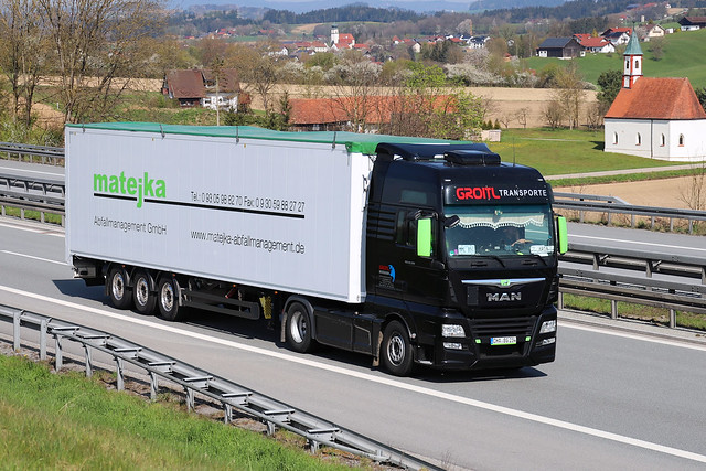 MAN TGX 18.500  Groitl Transporte