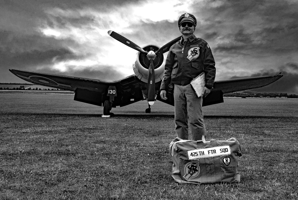 Portrait Of An Airman
