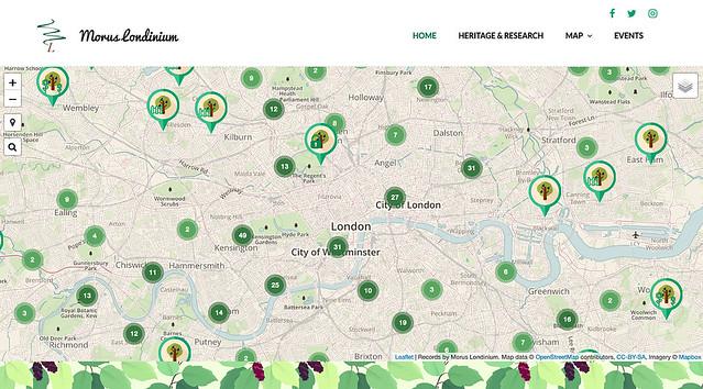 Morus Londinium: London's Heritage through Trees, UNITED KINGDOM