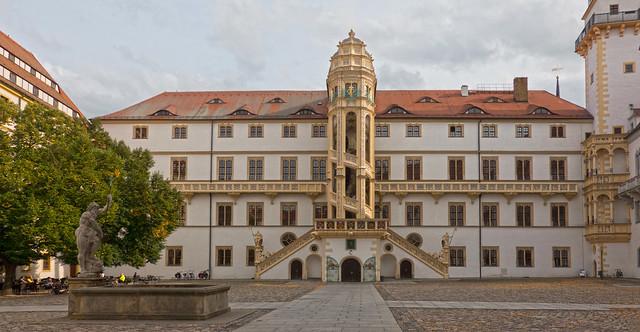 Hartenfels castle in Torgau