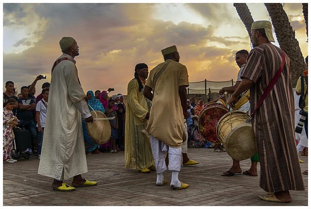Gnawa music, Taroudant (Marruecos)
