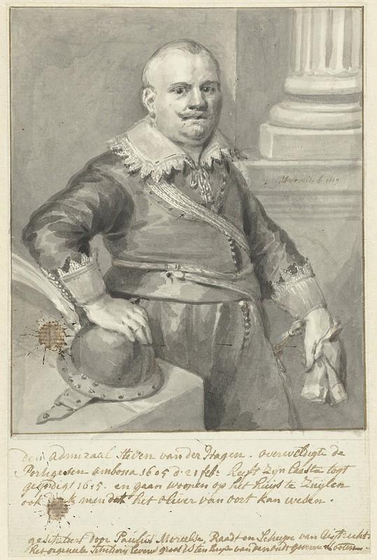 Portret_van_admiraal_Steven_van_der_Hagen_of_Olivier_van_Noort (Rijksmuseum)