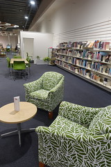 New chairs, Linwood Library