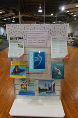 Linwood Pool display, Linwood Library