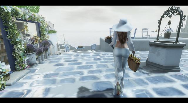 -quick escape:  Greece-flower stop-