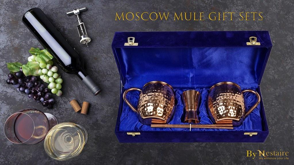 Copper Mugs - A Great Addition to your Barware   Nestiare