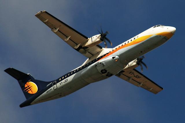 Jet Airways ATR72 VT-JCF Bangalore (BLR/VOBL)