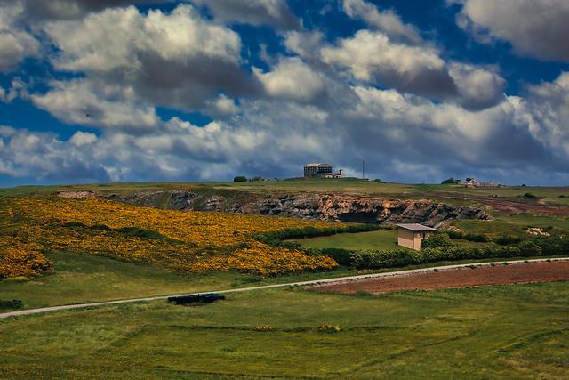 Una vista de San Martin De Podes-Gozon