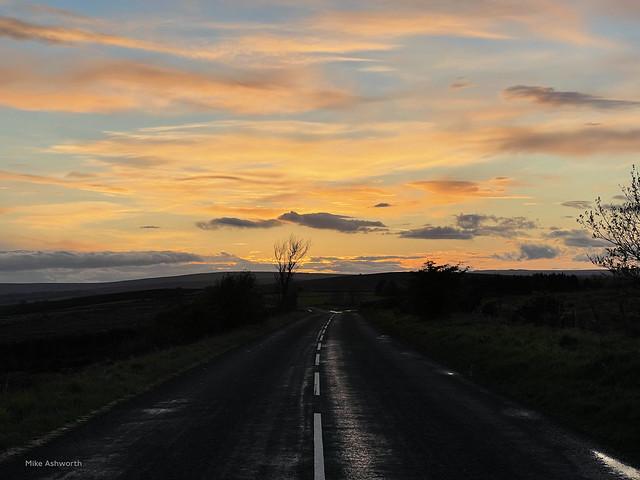 Moorland road home