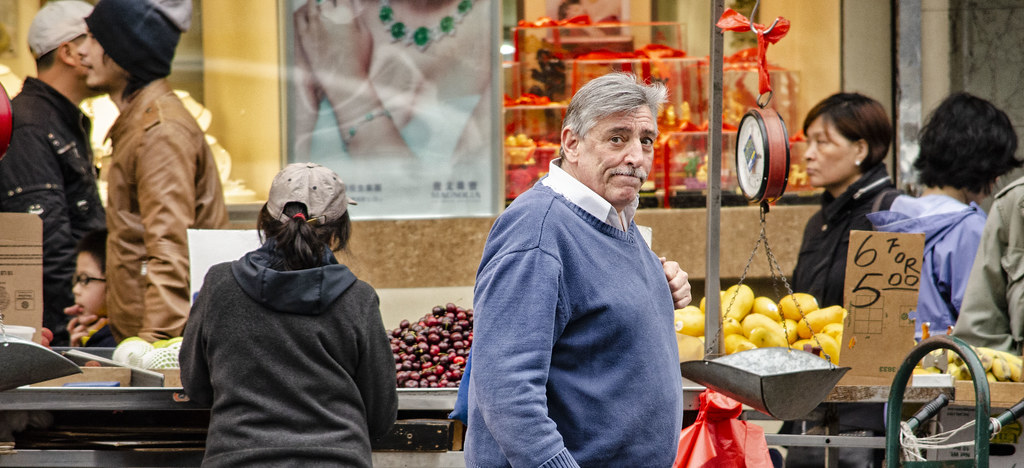 Man at Market