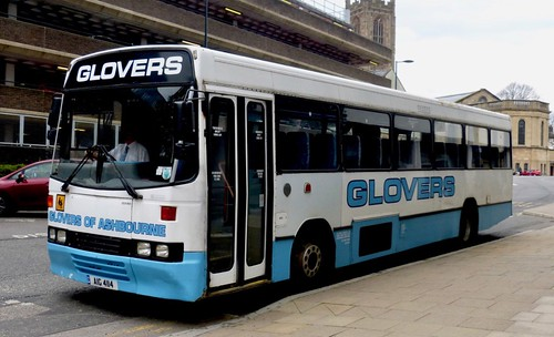 AIG 4114 'Glovers of Ashbourne'. Volvo B10M / Alexander (Belfast) 'Q' type /1 on Dennis Basford's railsroadsrunways.blogspot.co.uk'