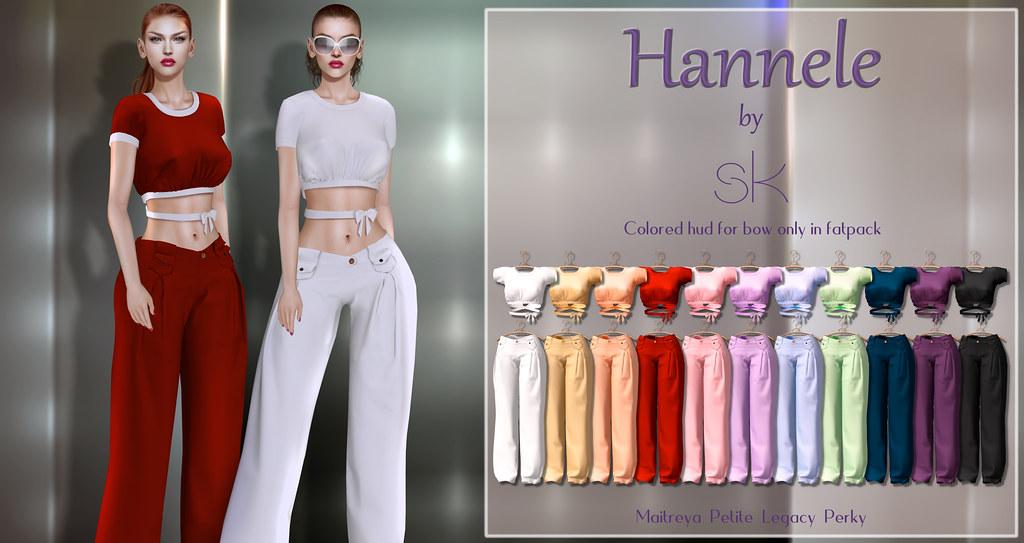 Hannele by SK poster