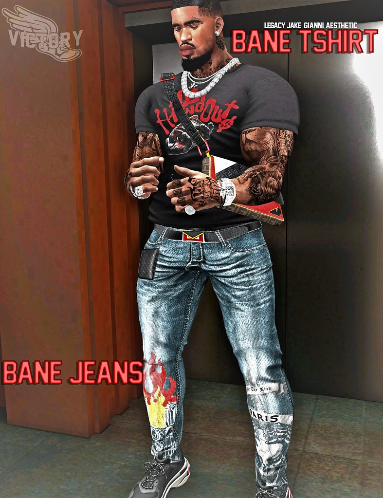BANE OUTFIT – AESTHETIC