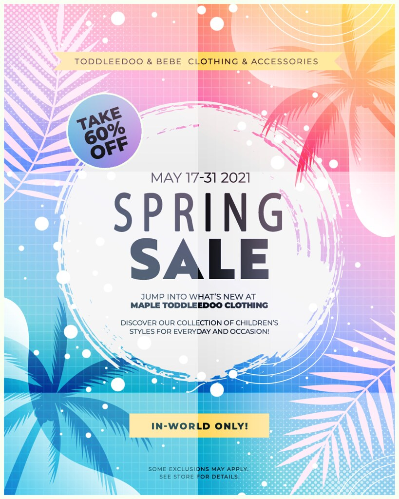 RE-GRAND OPENING SALE! ♥