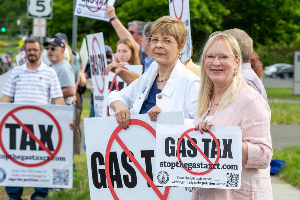 Senator Kissel 2021-05-17 Stop the Gas Tax Rally Enfield