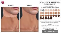 BOM Neck Blender male version (for TLC)
